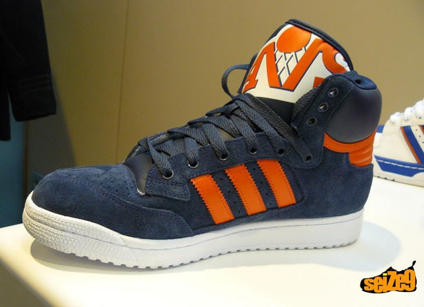 check out cff35 08c6f Adidas Centennial Mid NBA - FW09 - Preview - SneakersBR
