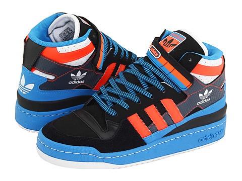 competitive price cd627 5cc6e ... black adidas forum mid blue orange ...