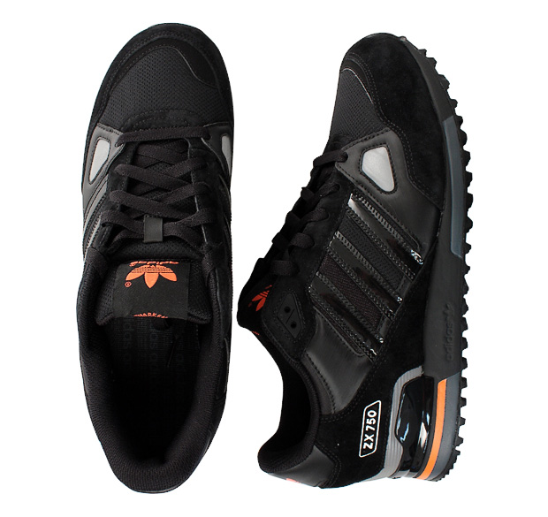 adidas zx 750 noir et orange