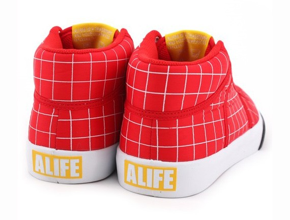 Alife Everybody Mid Parachutes Nylon - Grid Pack - SneakersBR 2e7d809f1a