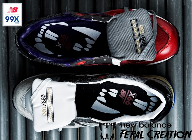 huge selection of 39b44 52045 New Balance 999 Feral Creation Collection - SneakersBR