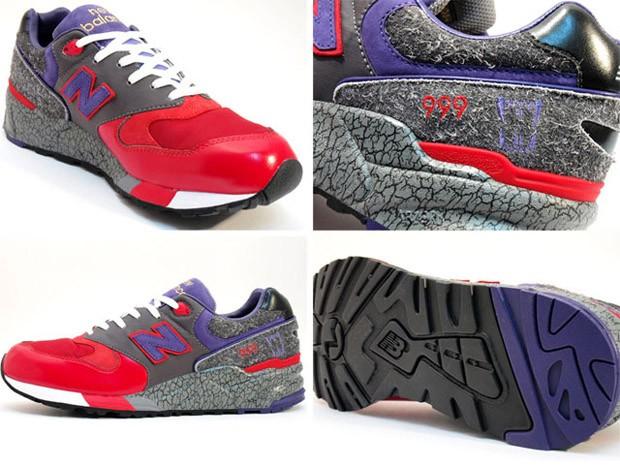 timeless design b4d73 21ddc New Balance 999 Feral Creation - Fotos Detalhadas - SneakersBR