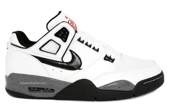 d4a143516072df Nike Air Flight Condor - white black cement - SneakersBR