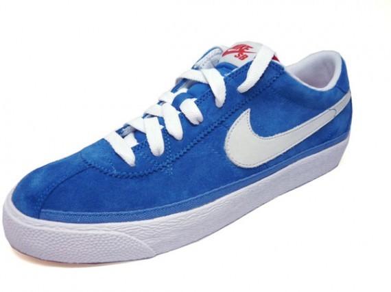 3629433ac2901 Nike Bruin SB - Millitary Blue White e Black White - SneakersBR