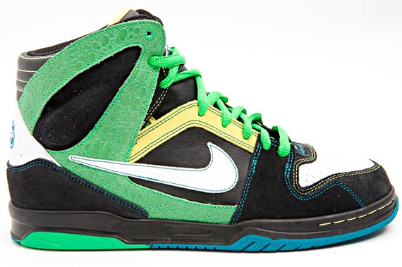 634caa9d6cd871 Nike 6.0 Zoom Oncore High - Green Black Yellow - SneakersBR