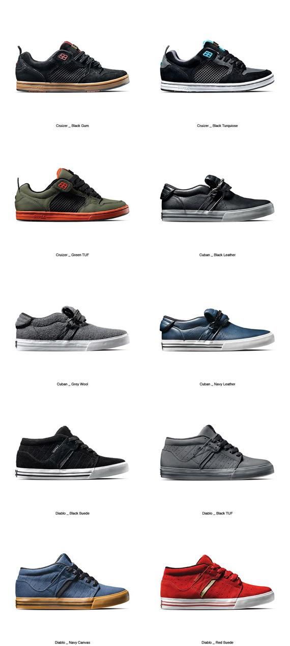 wide varieties 056bf 03f14 supra holiday 2009 skytop sneakers ... 8b1ae48ed