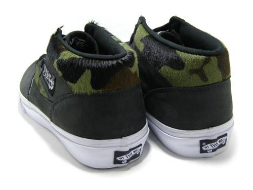 Vans Vault Half Cab Camo Pony - SneakersBR d93837f4030