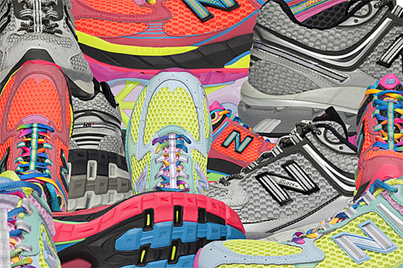 New Balance 967 – Night Race Rainbow Pack