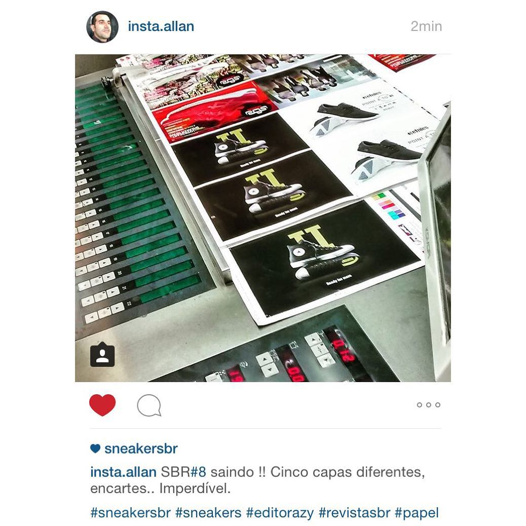 Regram do instaallan s pra avisar Revista SBR nmero 8hellip