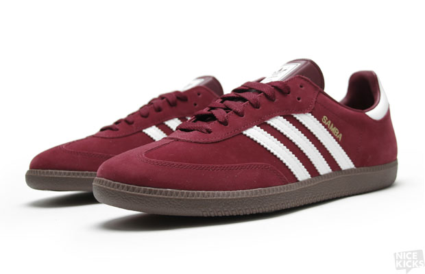 adidas originals samba cardinal red
