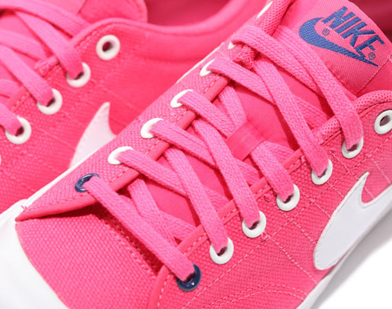 Nike All Court Low Canvas – Pink/White