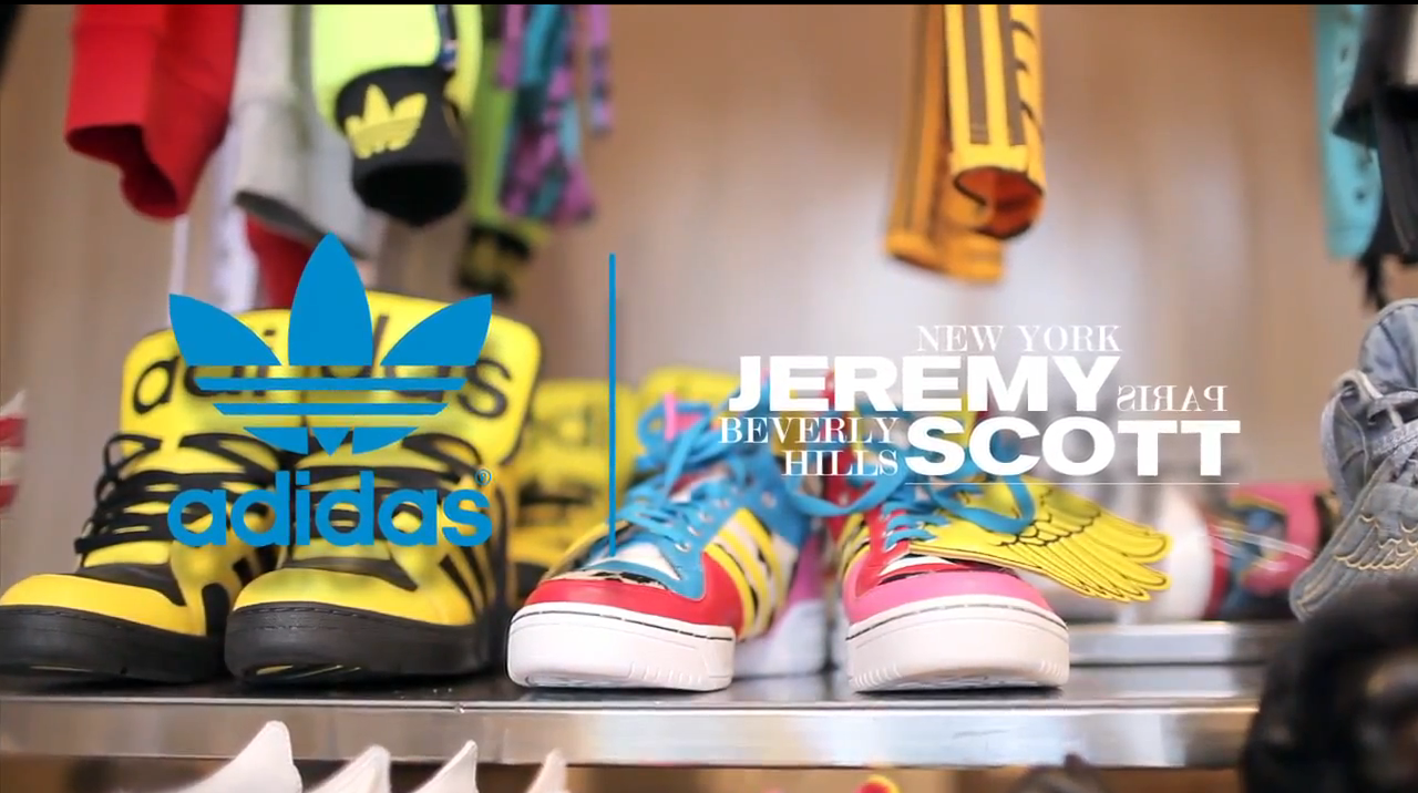official photos 7bf71 d74a5 Adidas Originals X Jeremy Scott – Spring Summer 2012  Behind the Scenes