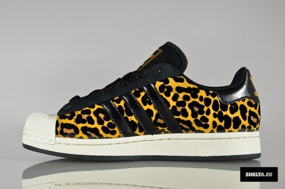 "Adidas Originals Superstar 2 W ""Leopard"" - SneakersBR 6e2e31d0df31"