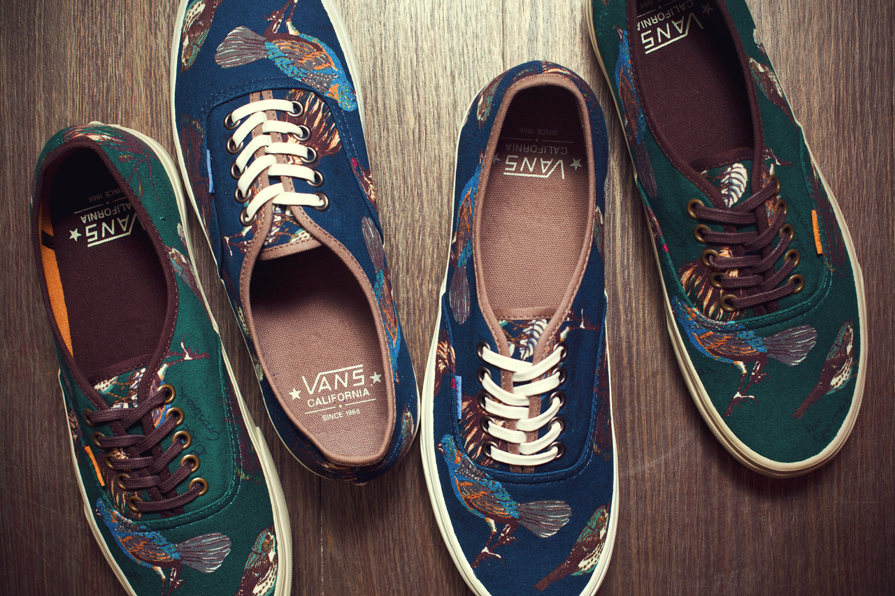 1232cb8c13 Vans California Authentic CA – Birds Pack – Fall Winter 2012