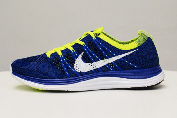 Nike Flyknit One+ – Royal/Volt