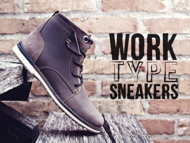 West Coast – Work Type Sneakers