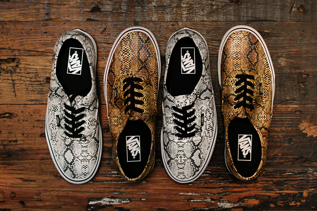 """Vans Authentic """"Snake Pack"""" –  Fall 2013"""