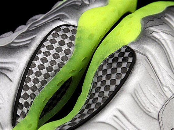 """Nike Air Foamposite One """"Silver/Lime"""""""