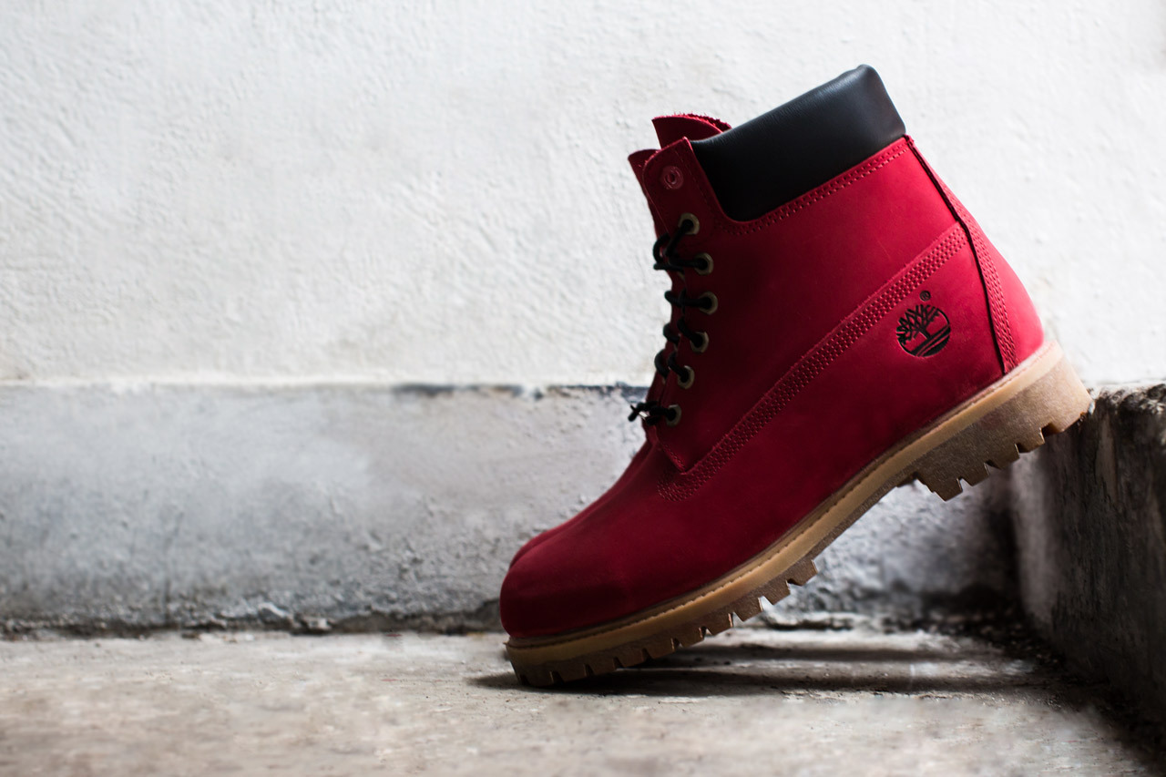 "Timberland X VILLA – ""Join the Movement"" Ruby Red 6″ Boot 3858551d3a"