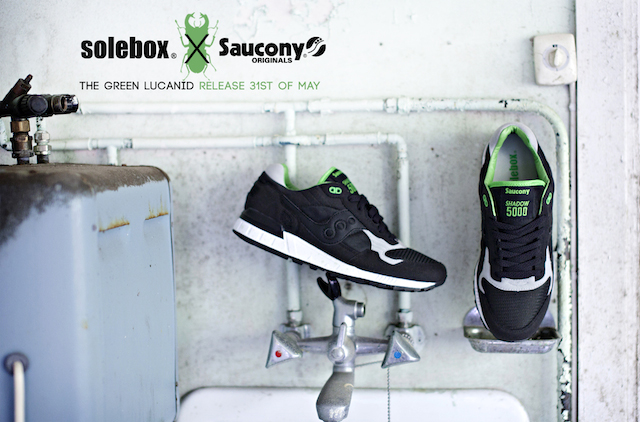 Saucony Shadow 5000 x Solebox 19.5-133Green