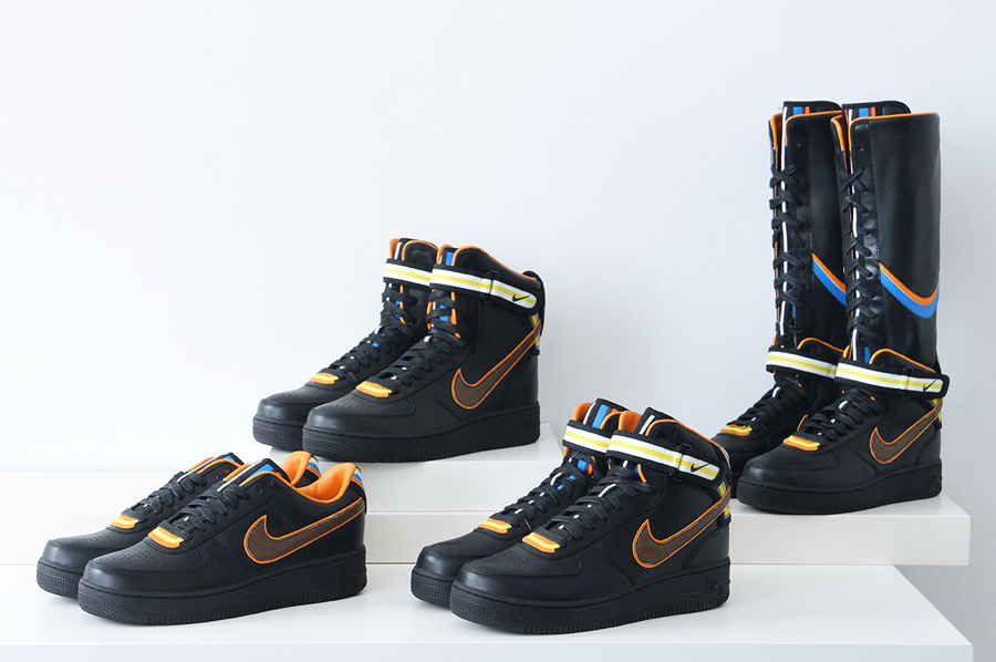 the best attitude 7c79c f6425 Nike X Riccardo Tisci – Air Force 1  Black Collection