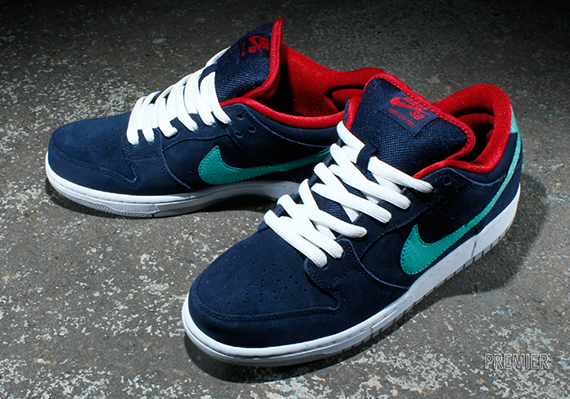 f78c885d05c4 Nike SB Dunk Low – Obsidian Gym Red Crystal Mint