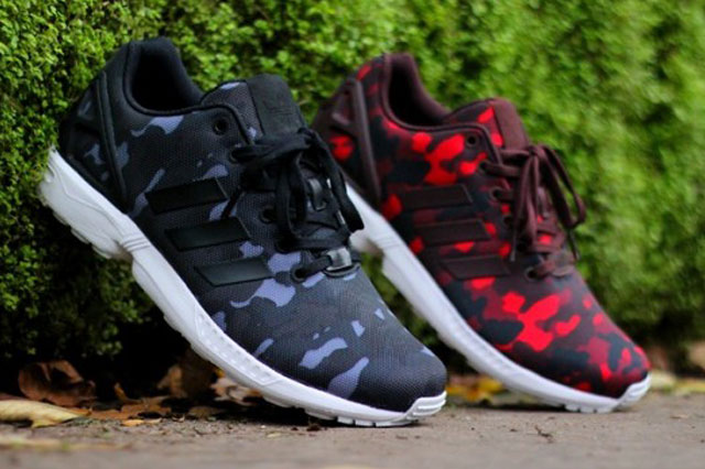 137c0ac1a3bbf Adidas ZX Flux X Big Sean - Camo Pack - SneakersBR