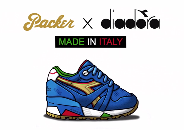 "Diadora N9000 X Packer Shoes – ""Azzuri"" – Video Teaser"