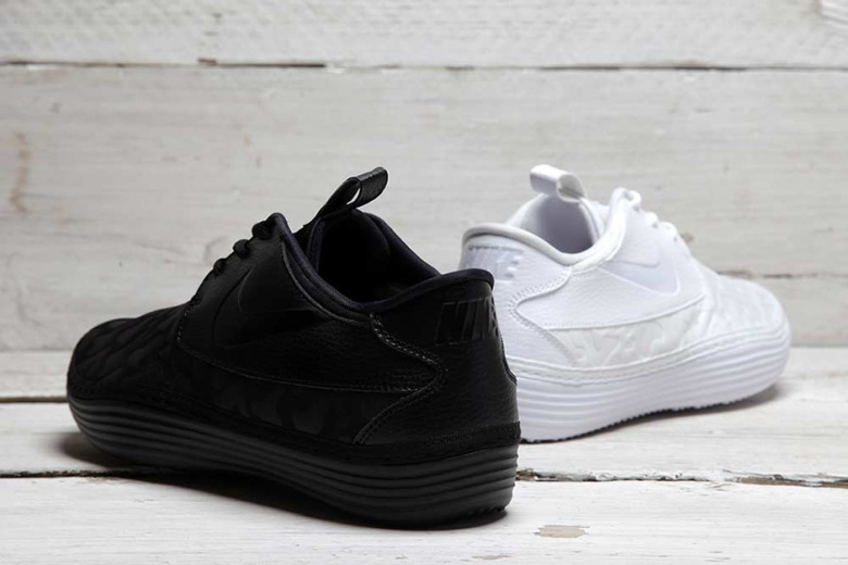 Nike Solarsoft Moc QS 'Black And White'