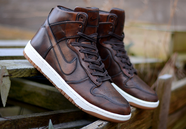 """buy popular b737c 15151 ... Lunar Dunk High SP TZ """"Sequoia"""" Is Coming Soon nike dunk brown leather  ..."""