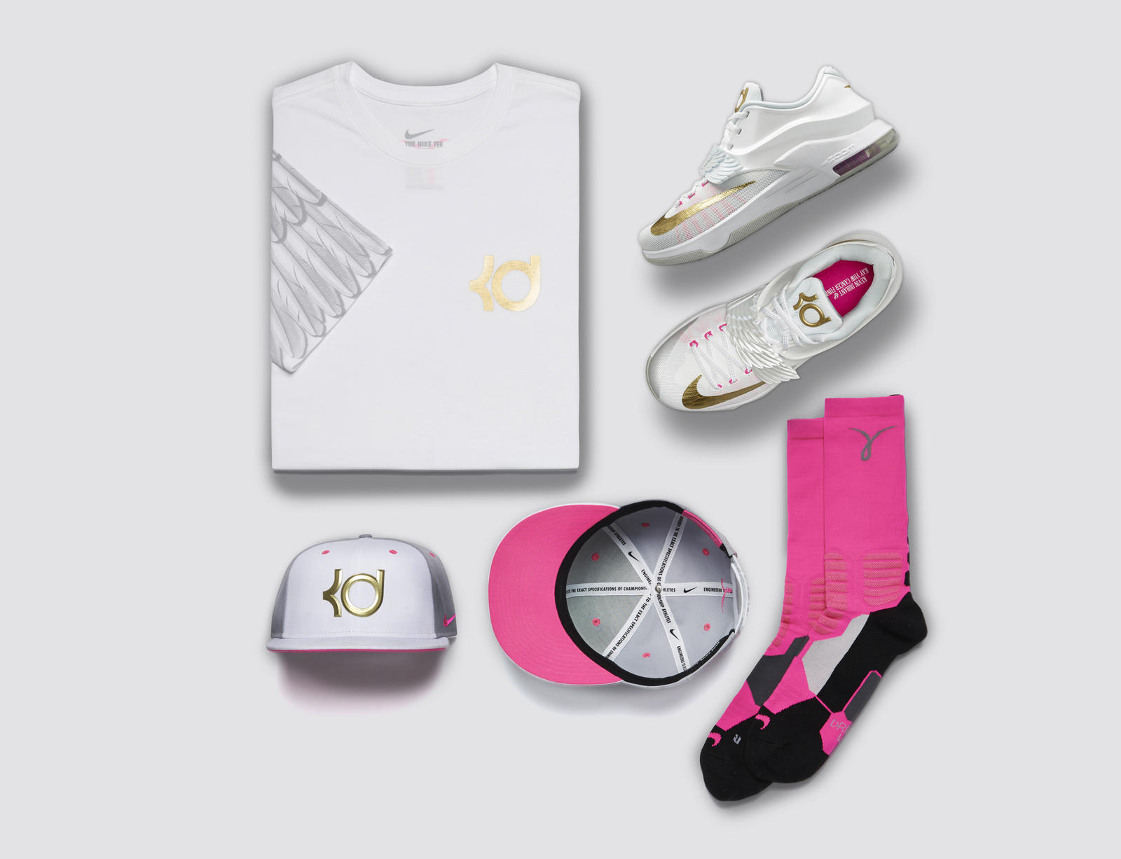 Kd Shoes White Wings