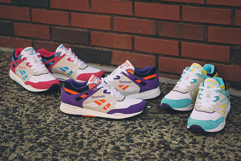 cb48a06734 Reebok Ventilator  Athletic Pack  - Spring 2015 - SneakersBR