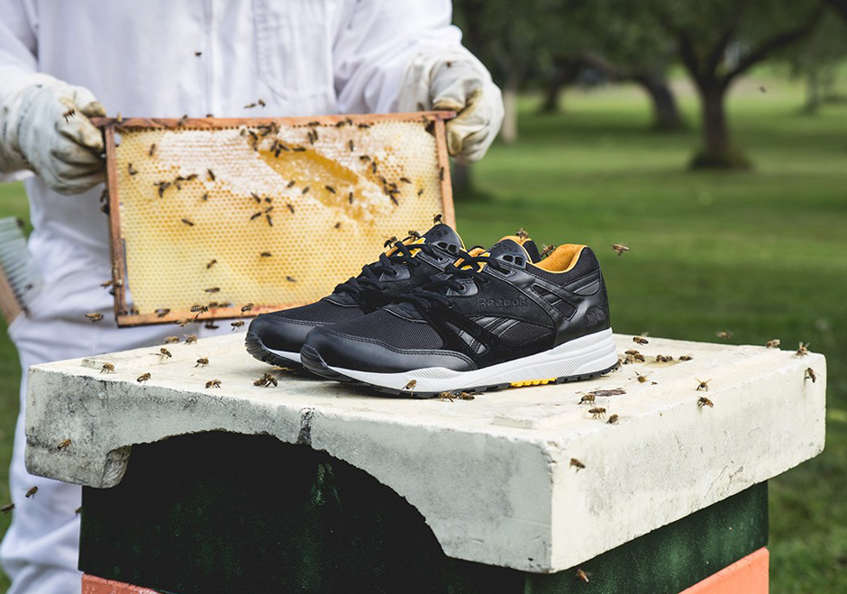 "Reebok Ventilator X Sneakersnstuff – ""Bees & Honey"""