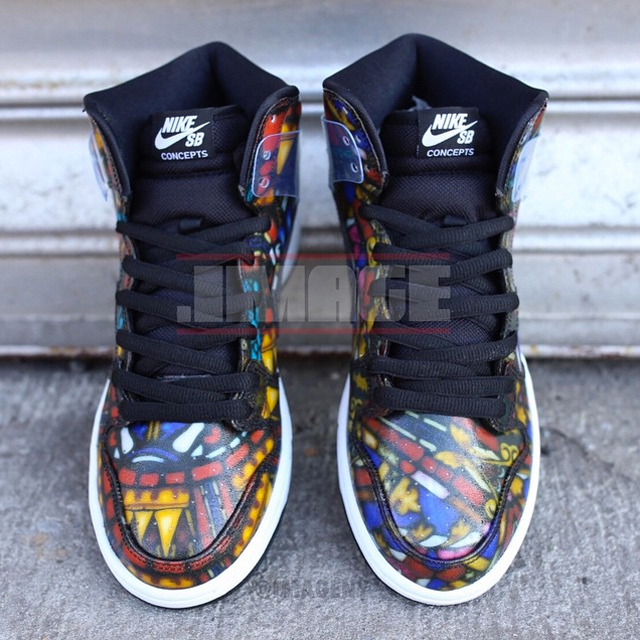 "Nike SB Dunk High X Concepts – ""Stained Glass Window"" – Preview"