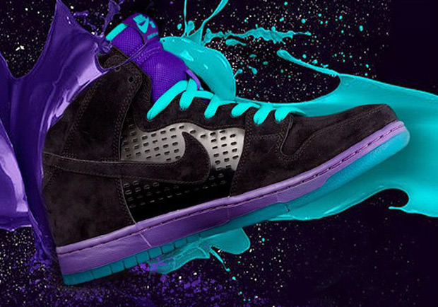 "Air Jordan V ""Black Grape"" Inspira Nova Colorway do Nike SB Dunk High"