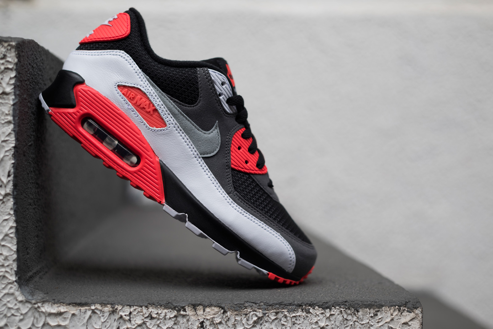 c2198dd4f85 Nike Air Max 90 25th Anniversary - Infrared Reverse - SneakersBR