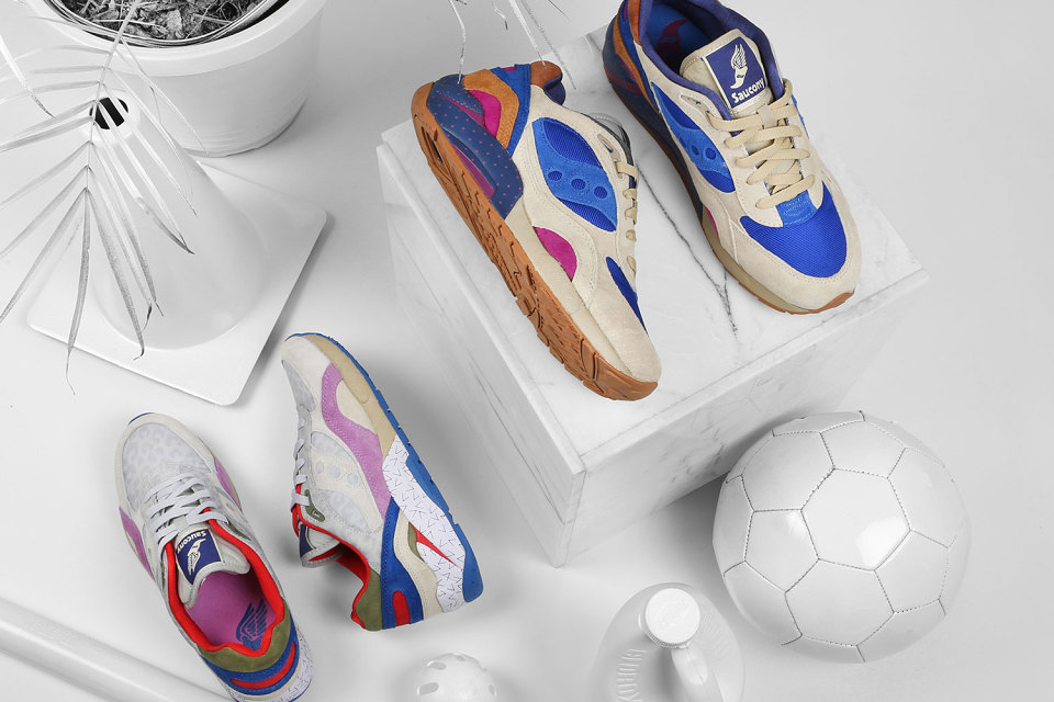 1741a53bbc8 Saucony Elite G9 Shadow 6 X Bodega – Pattern Recognition Pack