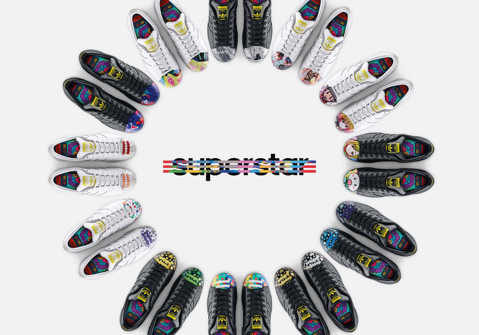 Adidas Superstar X Pharrell Williams – Supershell Artwork Collection