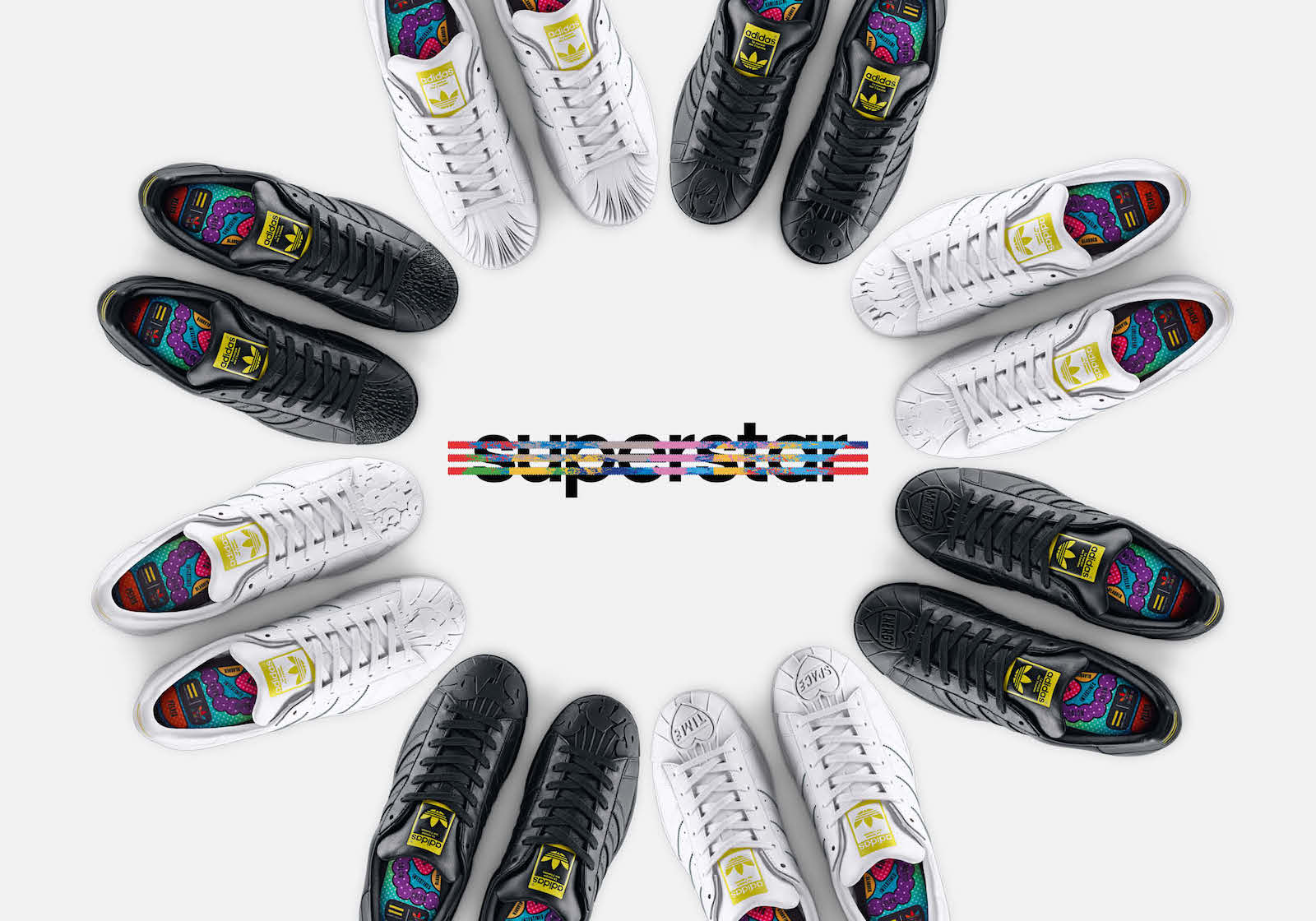 Adidas Superstar X Pharrell Williams – Supershell Sculpted Collection