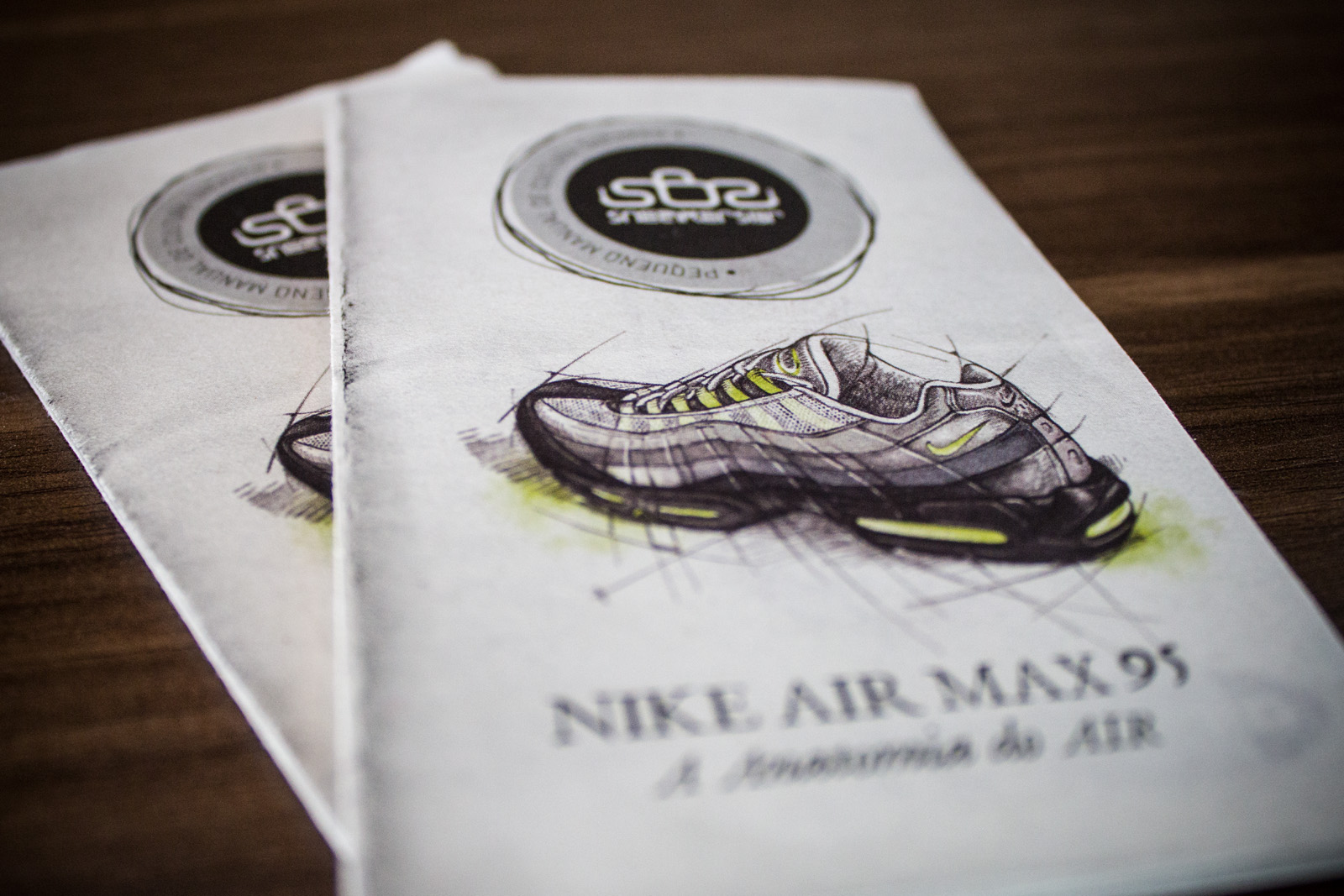 SneakersBR E Nike Sportswear Apresentam: Pequeno Manual De Cultura Sneaker Vol.2 – Air Max 95 – A Anatomia Do AIR