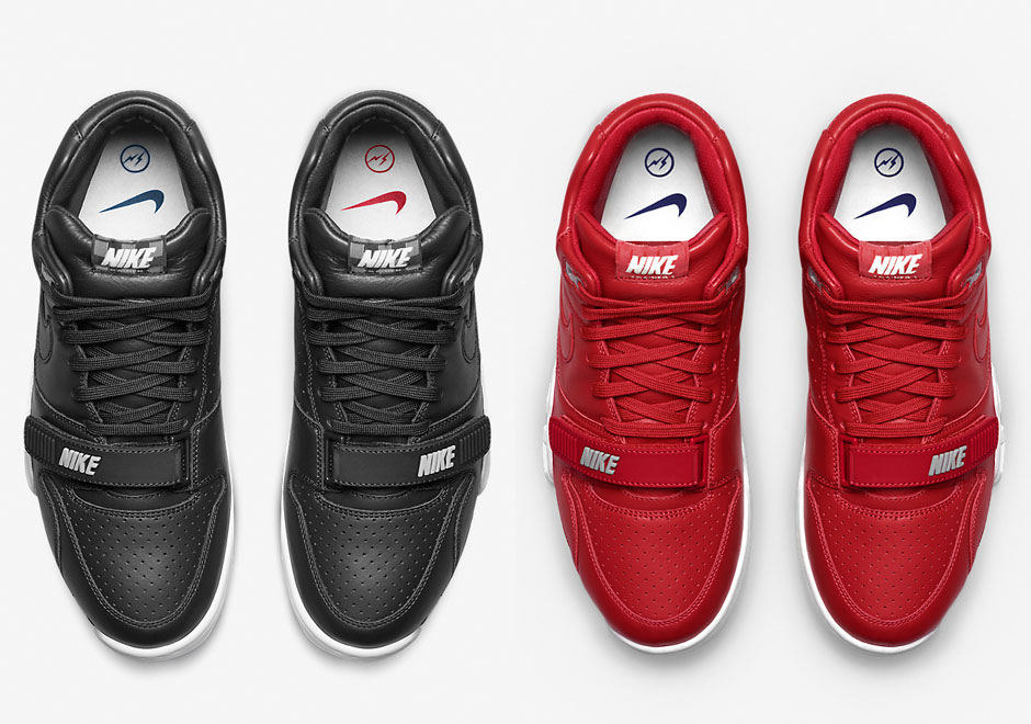 NikeLab E Fragment Revelam Mais Duas Cores Do Air Trainer 1