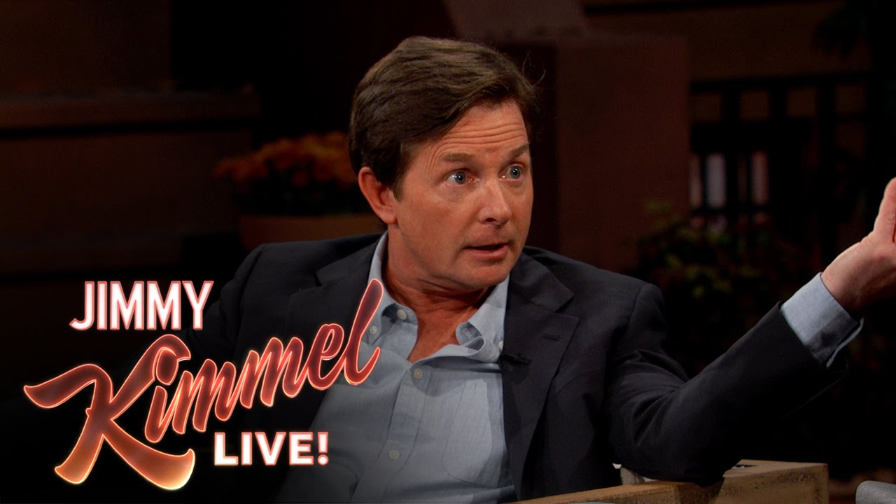 Michael J. Fox Apresenta o Sistema de Power Laces no Programa de Jimmy Kimmel