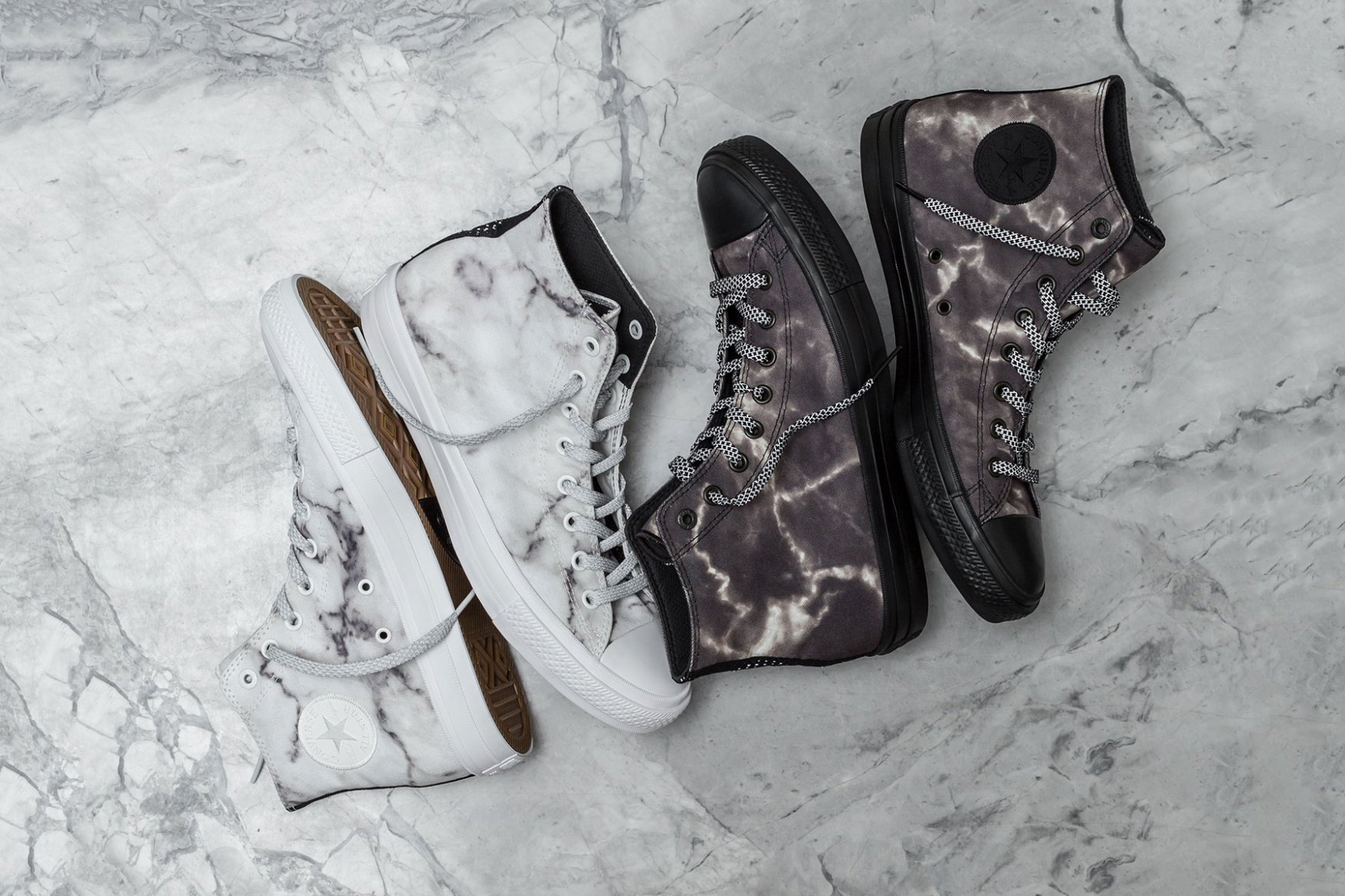 3c3eb7519e Converse First String Chuck Taylor All Star II – Marble Pack