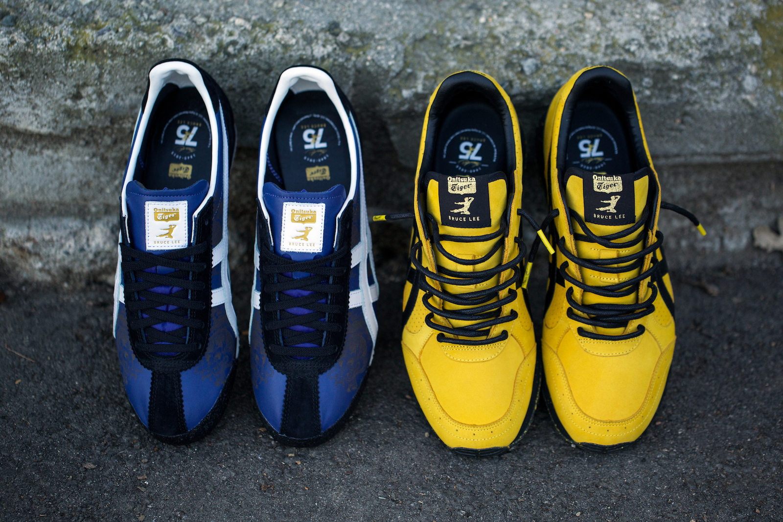 size 7.5 BAIT x Onitsuka Tiger Colorado Eighty Five x BRUCE LEE