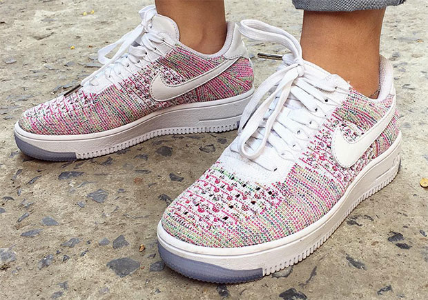 sale retailer bbe59 14c07 nike-air-force-1-low-flyknit-multi-white- ...