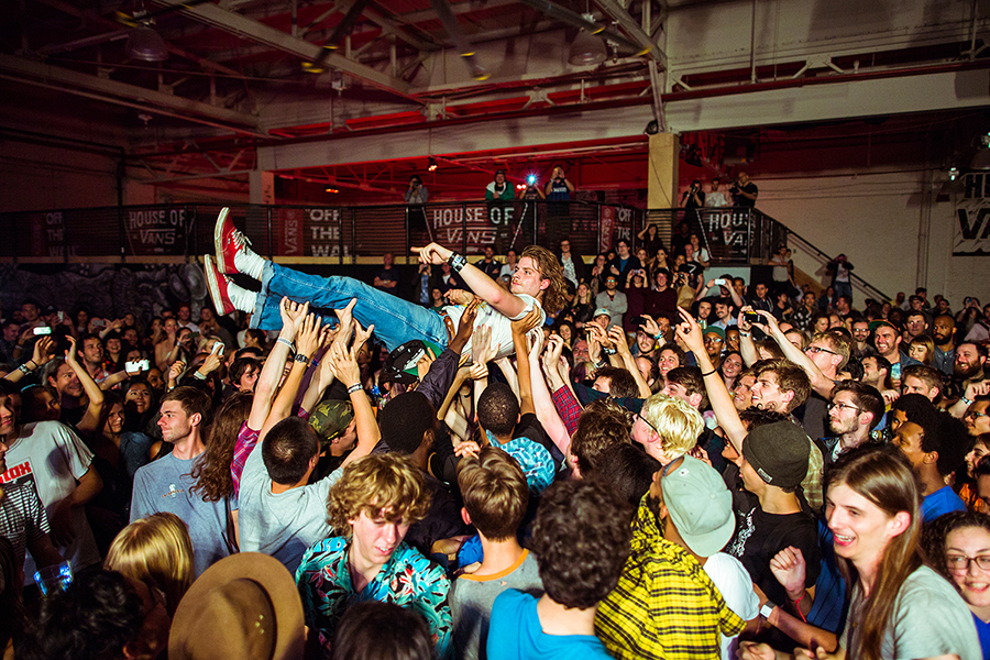 House of Vans | Charles Bradley | Mac Demarco | Benjamin Booker Photo by Bryan Derballa