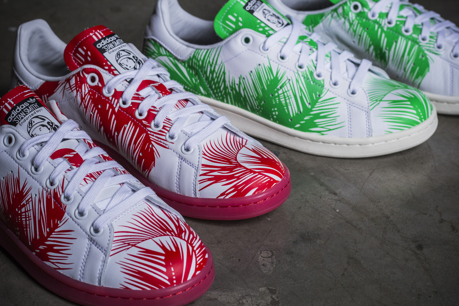 e3212f434e4 SneakersBR Unboxing  adidas Originals X Pharrell Williams X BBC –  Palm  Tree  Pack