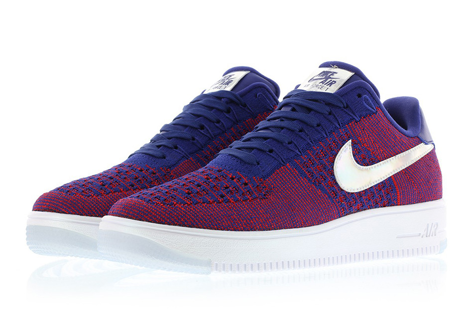 nike air force 1 flyknit low 39 usa 39 sneakersbr. Black Bedroom Furniture Sets. Home Design Ideas