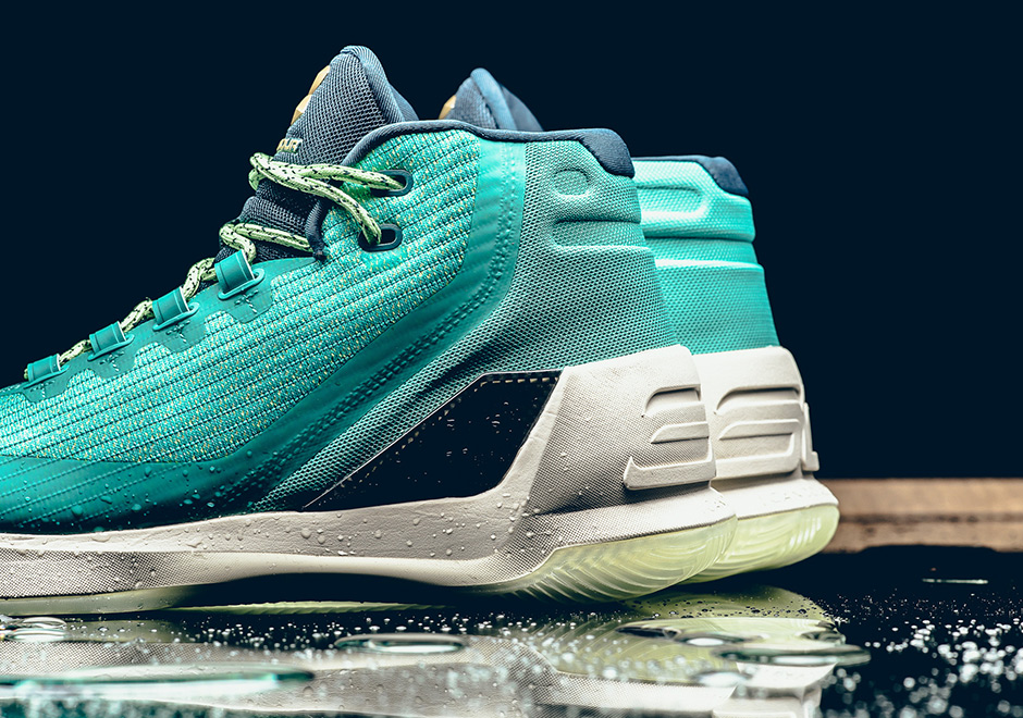 Under Armour Curry 3 'Rain Water'