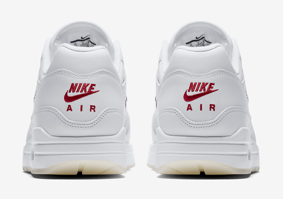 official photos ac8de e7bc5 nike-air-max-1-premium-sc-jewel-white-red-release-date-6
